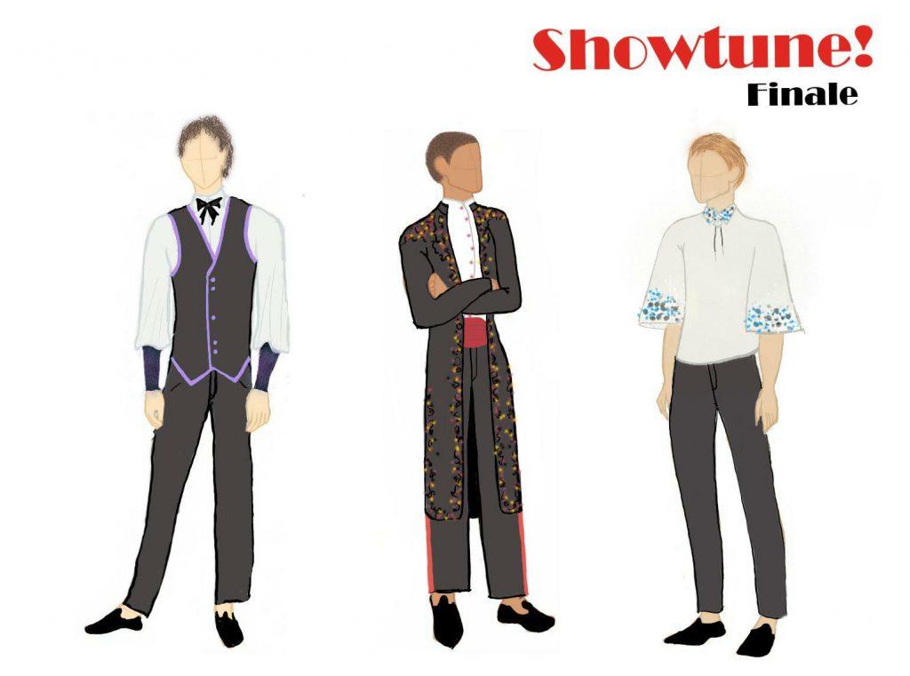 Showtune Act 3-dudes