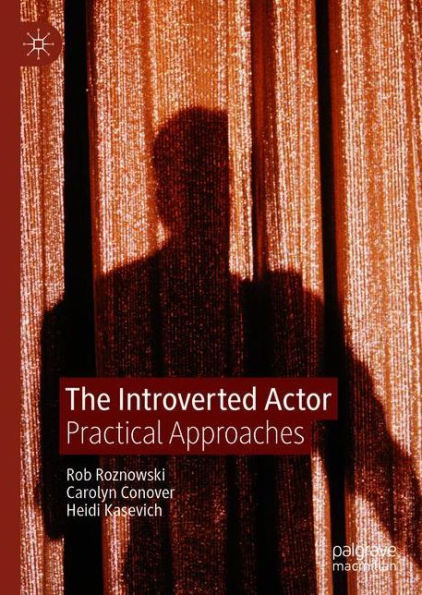 book cover for the book the introverted actor