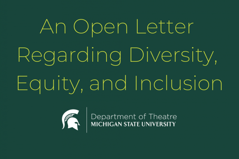 An Open Letter Regarding Diversity, Equity, and Inclusion