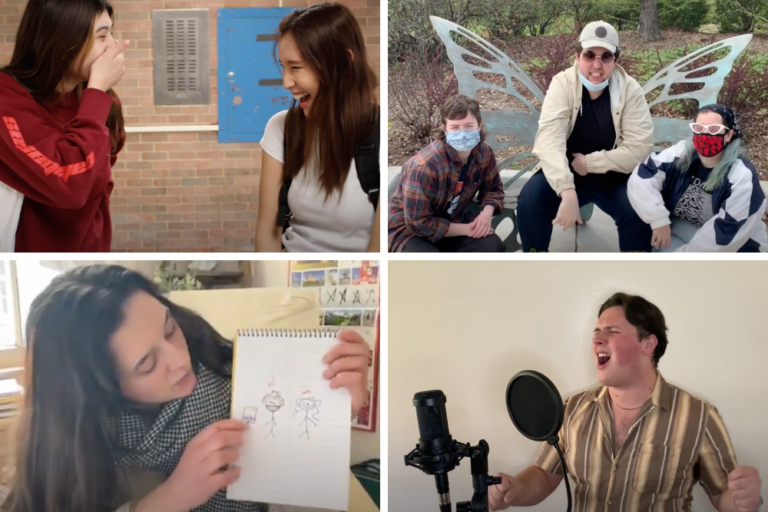 Theatre Students Create Original Content for Online Presence