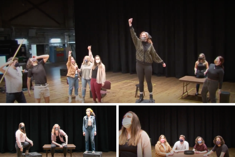 Theatre Students Workshop New Musical at Wharton Center